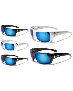 Men's Artic Blue Anti-Glare BlueTech Mirrored Lens Sunglasses