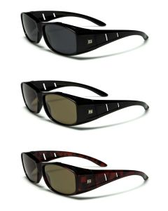 Barricade Polarized Fit-Over Sunglasses