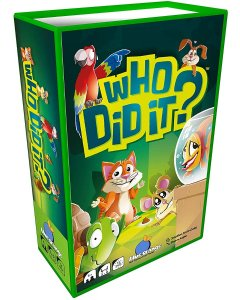 Who Did It? Travel Card Game