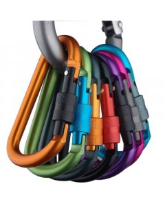Carabiner Hook, Perfect for Hiking, Keys, Camping