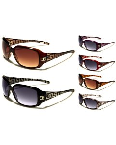 CG Designer Rectangle Gradient Women's UV400 Sunglasses