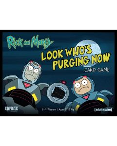 Rick and Morty Look Who's Purging Now Card Game
