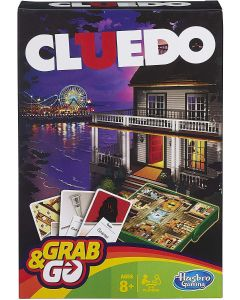 Hasbro Cluedo Grab & Go Travel Game
