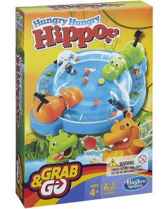 Hungry Hungry Hippo Grab and Go Travel Game