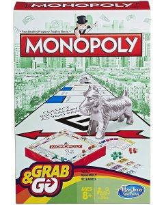 Monopoly Grab & Go Travel Game