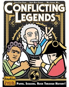 Conflicting Legends (2nd Edition) Board Game