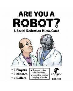 Are You a Robot - Micro Card Game