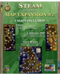Steam Rail to Riches Map Extension Board Game
