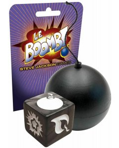 Le Boomb! (Black) Bomb Dice Game