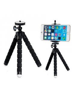 Black Small Flexible Octopus Tripod / Gorillapod for Digital Camera / Mobile Phone