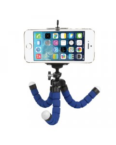 Blue Small Flexible Octopus Tripod / Gorillapod for Digital Camera / Mobile Phone