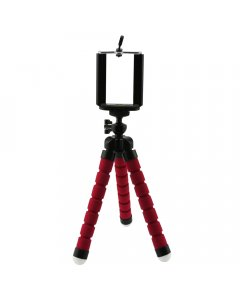 Red Small Flexible Octopus Tripod / Gorillapod for Digital Camera / Mobile Phone