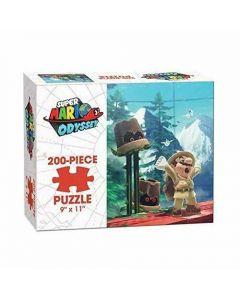 Super Mario Odyssey Wooded 200 Piece Puzzle