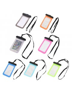 Waterproof Underwater Case Dry Pounch For Mobile Phone Upto 6""