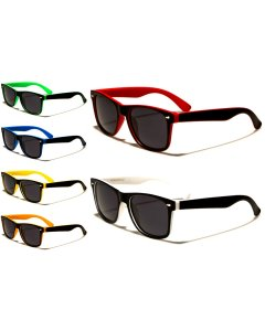Colourful Polarised Retro Sunglasses UV400 Unisex Men's Women's