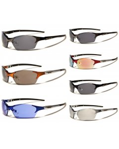 XLoop UV400 Mens Wrap Around Sunglasses