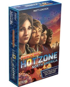 Pandemic Hot Zone North America Board Game